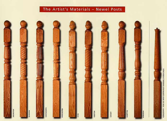 Designer Newel Posts