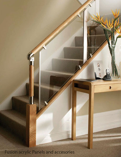 Fusion Acrylic Balustrade Panels