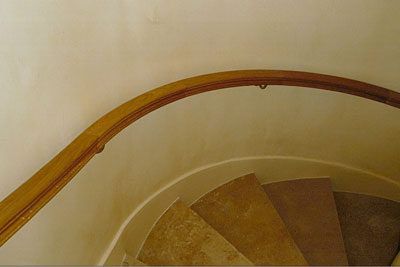 Wreath - Curved handrail