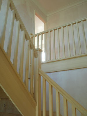 Stop Chamfered Staircase Specification