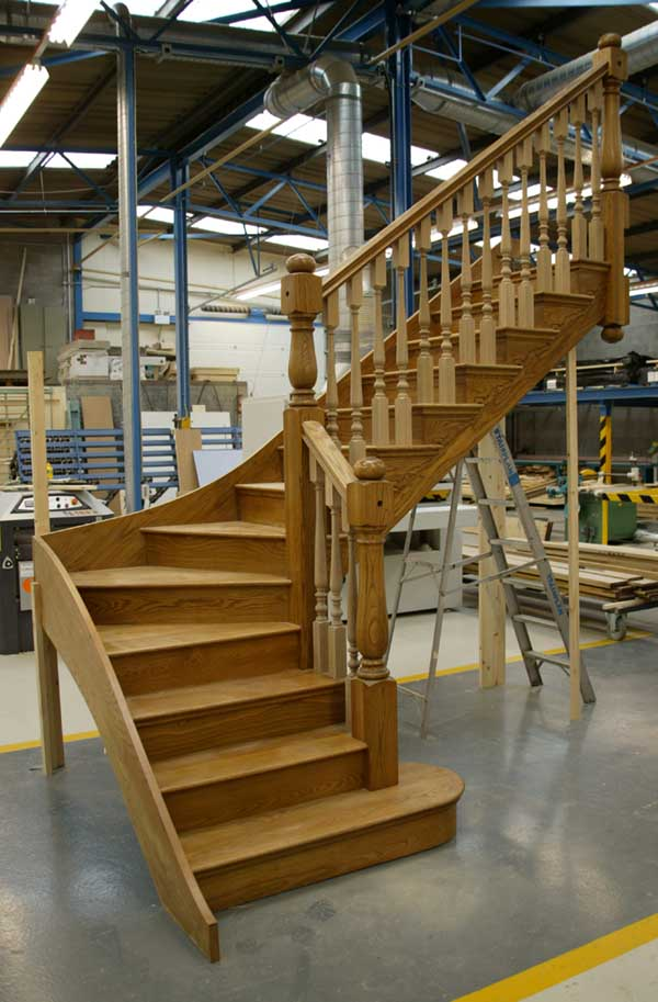 Prescott Staircase in our Workshop