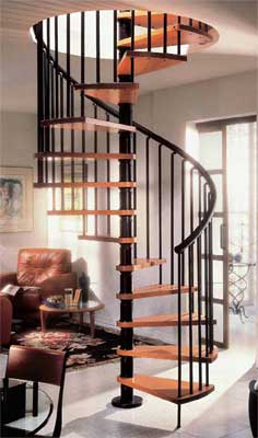 Gamia Wood Spiral Staircase