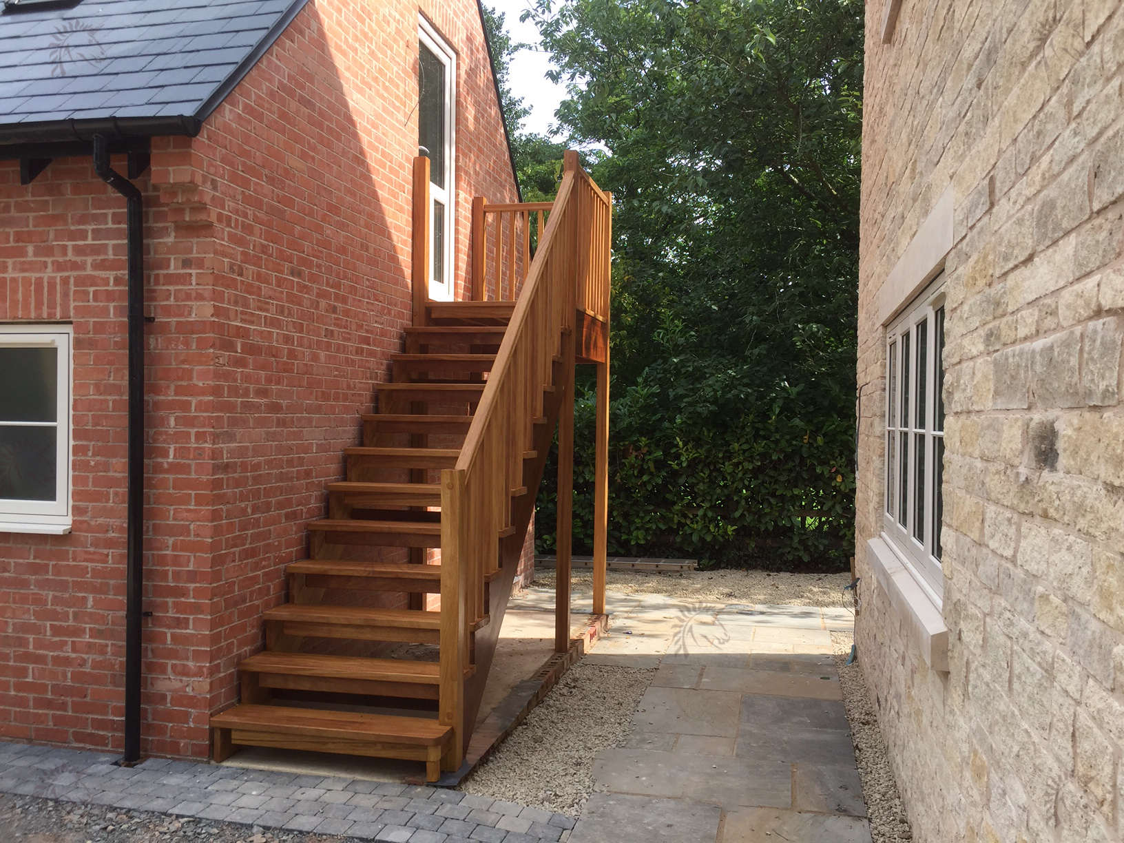 external timber staircases