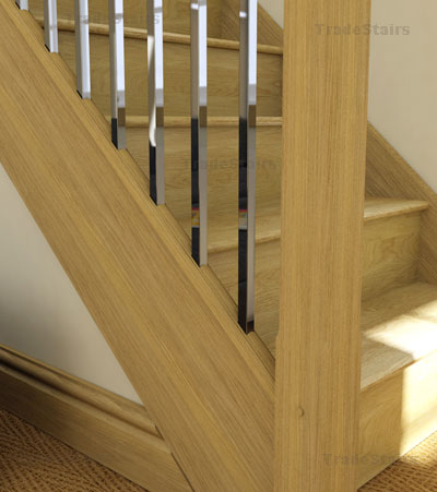 Axxys square metal balusters