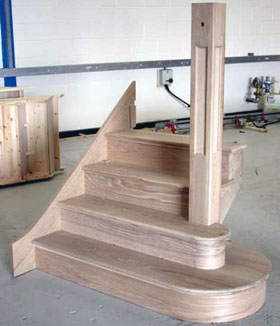 Nertherfield Oak Staircase