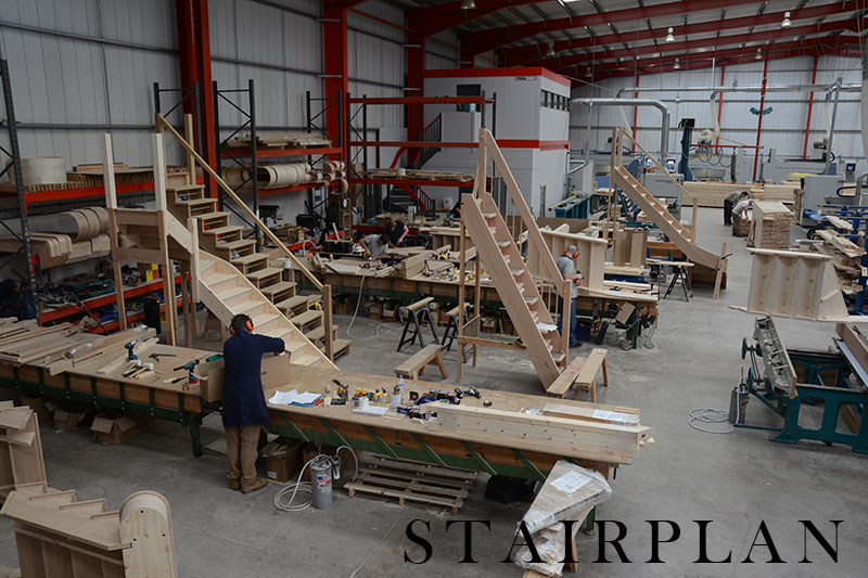 staircases in production buy your staircases from stairplan